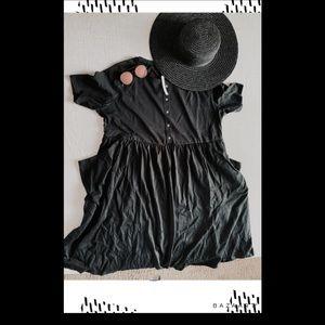 ASOS Black Maternity dress